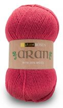 Hayfield Bonus Aran with Wool 400g - 626 Raspberry Pink